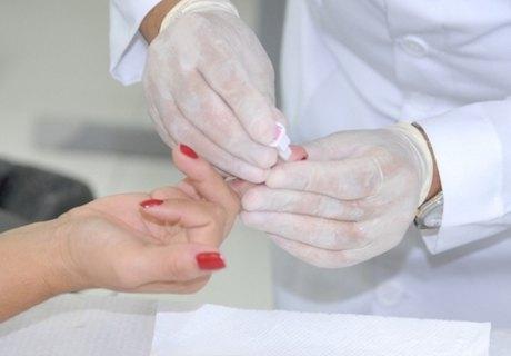 Imagem Teste de Glicemia