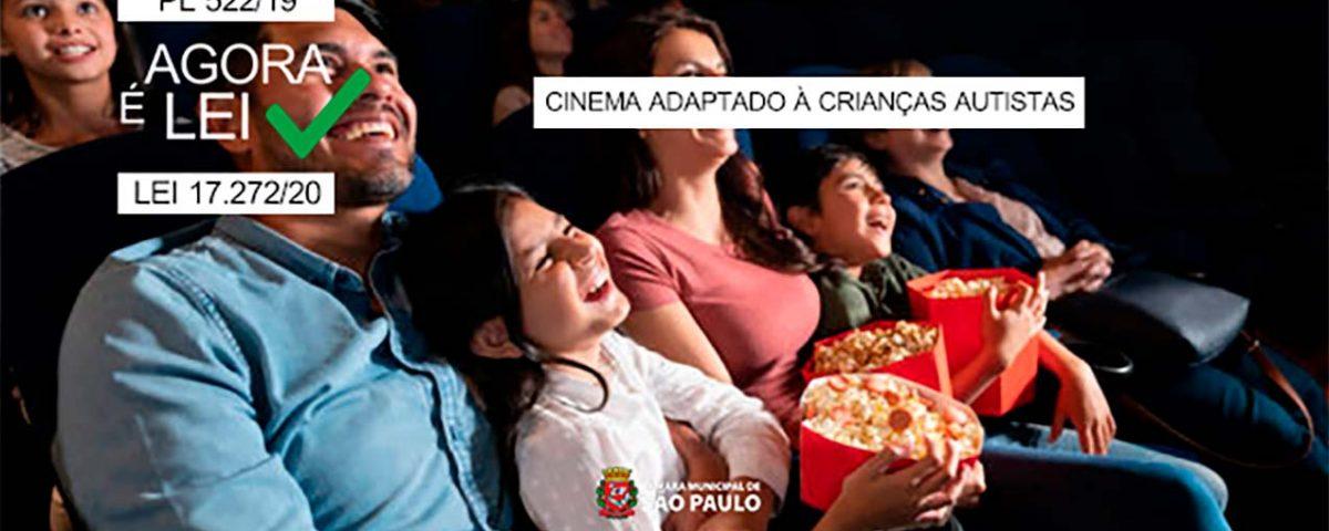 Agora é Lei: Cinemas devem oferecer sessões especiais adaptadas às crianças autistas