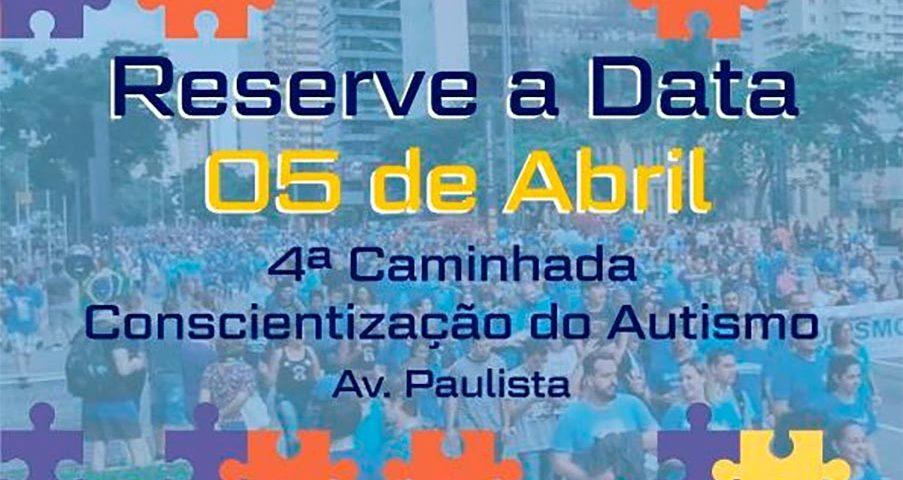 4ª caminhada pelo AUTISMO na Av Paulista