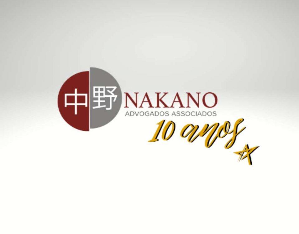 O escritório Nakano Advogados Associados completa 10 anos de história!