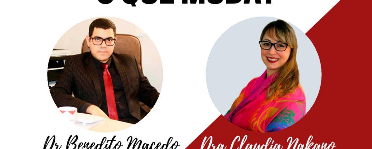 Live Claudia e Benedito 26-05-20