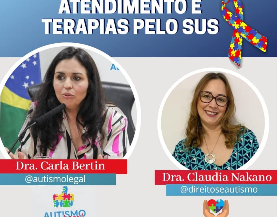 @autismolegal falam sobre os direitos das pessoas com autismo, tratamento e terapias pelo Sistema Ùnico de Sáude (SUS)